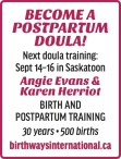 BECOME A DOULA!