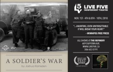 Live Five Presents A SOLDIERS WAR by Joshua Ramsden