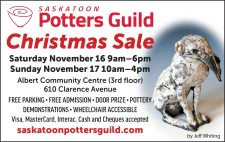 SASKATOON Potters Guild Christmas Sale