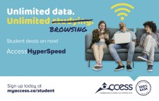 Student deals on now with Access Communications