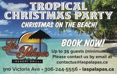Las Palapas TROPICAL CHRISTMAS PARTY
