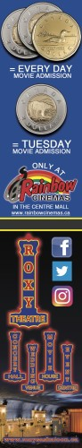ONLY AT Rainbow CINEMAS IN THE CENTRE MALL