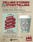 TELLING STORIES & STORYTELLING