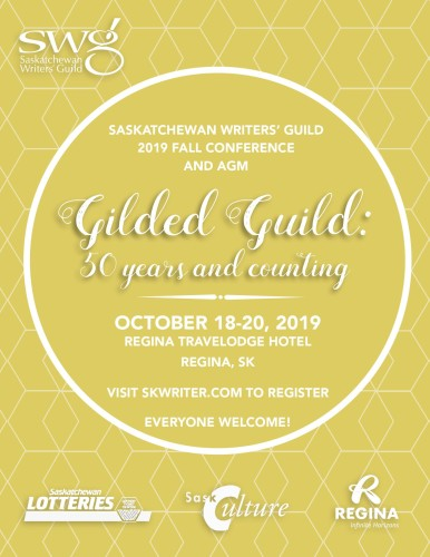Saskatchewan Writers Guild 2019 Fall Conference and AGM
