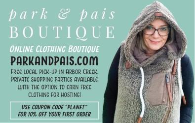 Park and Pais Online Clothing Boutique