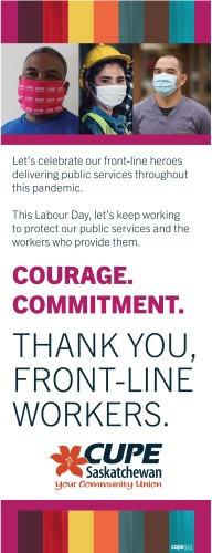 Let's celebrate our front-line heroes delivering public services throughout this pandemic.