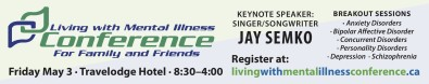 Living with Mental Illness Conference For Family and Friends