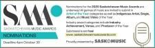 SASKATCHEWAN MUSIC AWARDS NOMINATIONS