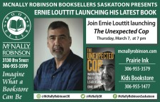 MCNALLY ROBINSON BOOKSELLERS PRESENTS ERNIE LOUTTIT LAUNCHING HIS LATEST BOOK