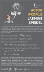 ACTOR PROFILE: JASMINE SPEIDEL