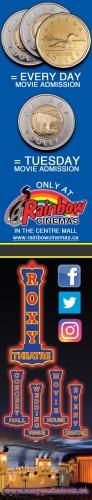Movie Admission at Rainbow Cinemas
