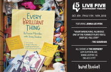 LIVE FIVE INDEPENDENT THEATRE presents EVERY BRILLIANT THING