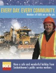 Have a safe and wonderful holiday from Saskatchewan's public service workers
