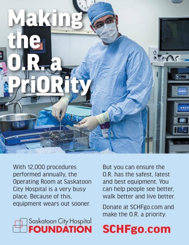 Making the O.R a PriORity