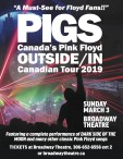 PIGS: Canada's Pink Floyd OUTSIDE/IN Canadian Tour 2019
