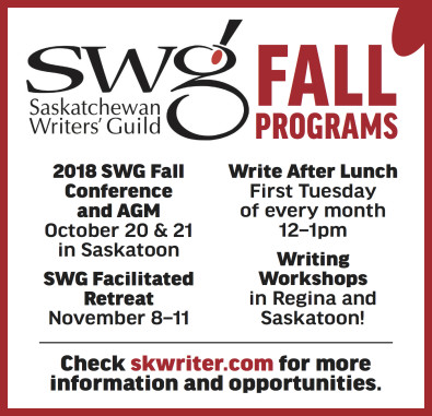 2018 SWG Fall Conference and AGM