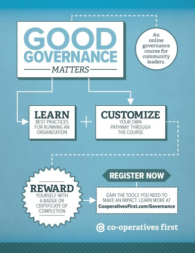 An online governance course for community leaders