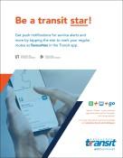 Be a transit star!