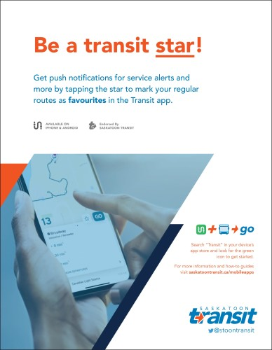 Be a transit star!