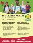 The only French first language schools in town!